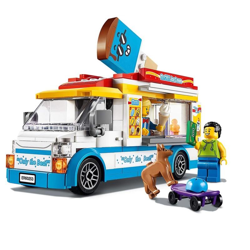 LEGO - City 60253 Zmrzlinárske auto