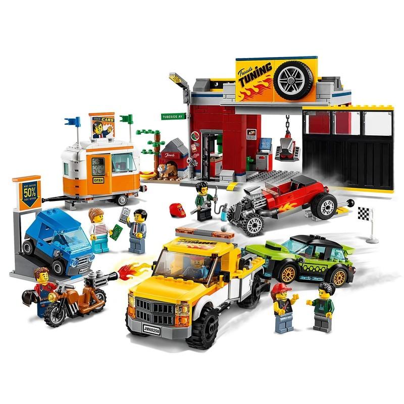 LEGO - City 60258 Tuningová dielňa