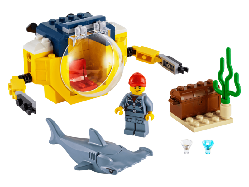 LEGO - City 60263 Oceánska miniponorka
