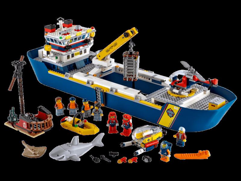 LEGO - City 60266 Oceánska prieskumná loď