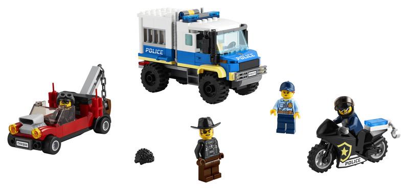 LEGO - City 60276 Väzenský transport