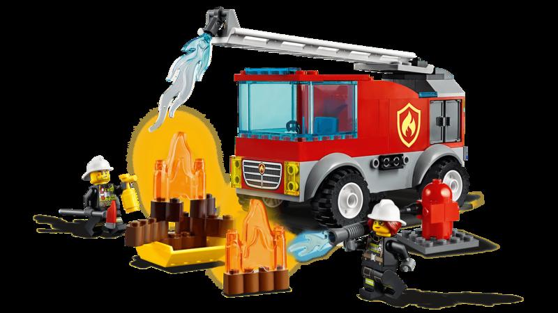 LEGO - City 60280 Hasičské auto s rebríkom
