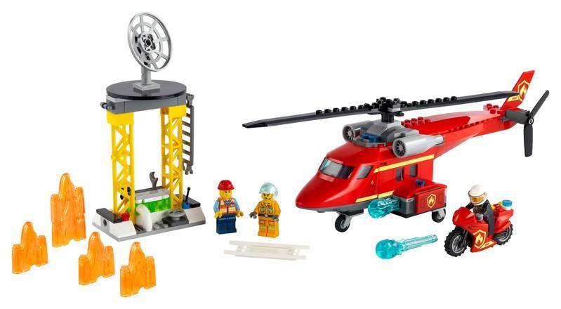 LEGO - City 60281 Hasičský záchranný vrtuľník