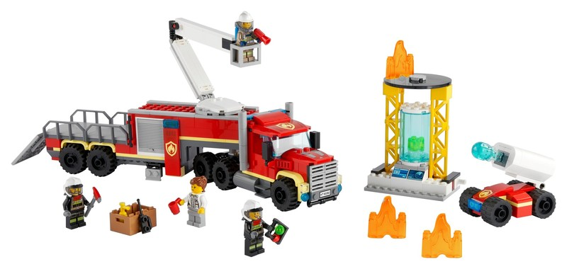 LEGO - City 60282 Velitelská zásahová jednotka