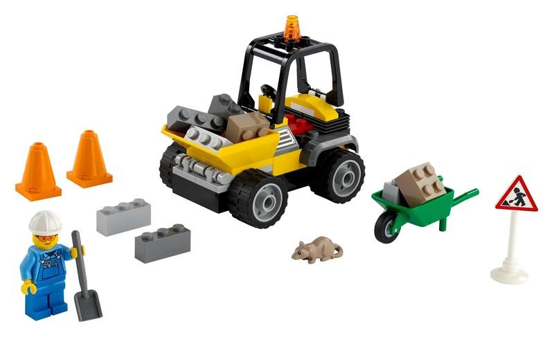LEGO - City 60284 Nákladiak cestárov