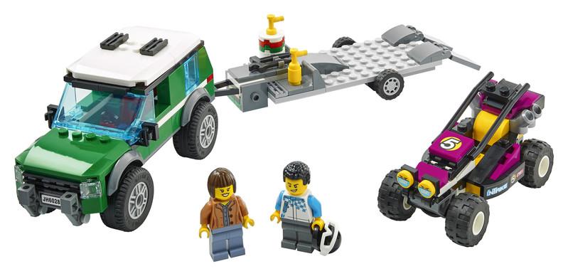 LEGO - City 60288 Transport závodnej buginy