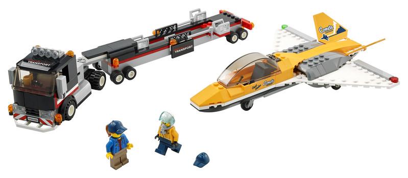 LEGO - City 60289 Transport akrobatického lietadla
