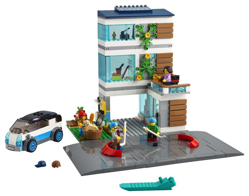 LEGO - City 60291 Moderný rodinný dom