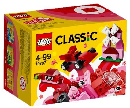 LEGO - Classic 10707 Červený kreatívny box