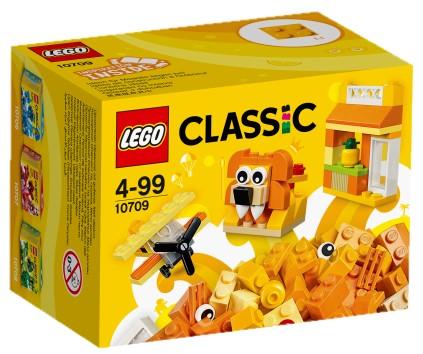 LEGO - Classic 10709 Oranžový kreatívny box