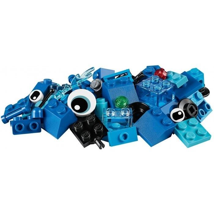 LEGO - Classic 11006 Modré kreatívne kocky
