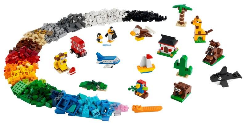 LEGO - Classic 11015 Cesta okolo sveta