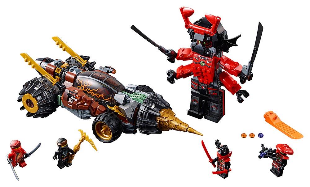 LEGO - Coleov Raziaci Vrták