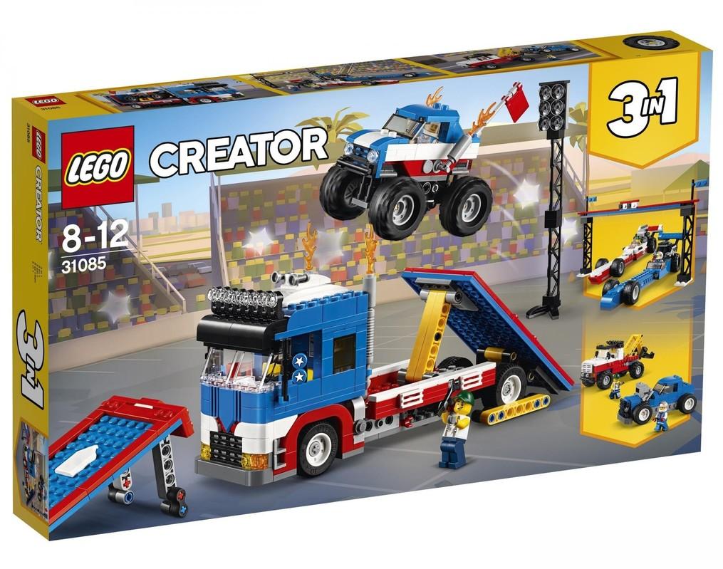 LEGO - Creator 31085 Mobilná kaskadérska šou