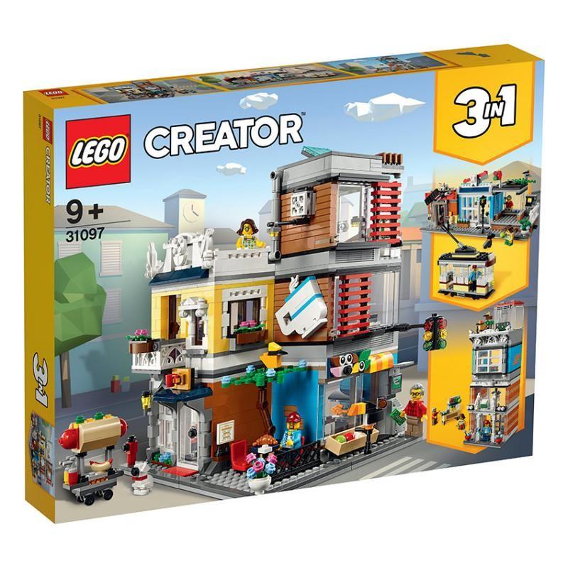 LEGO - Creator 31097 Zverimex s kaviarňou