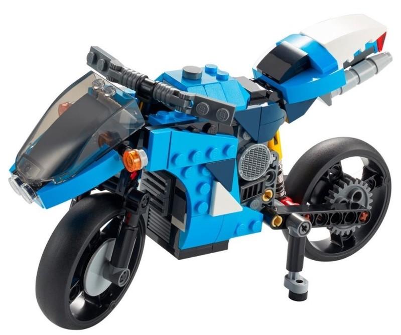 LEGO - Creator 31114 Supermotorka