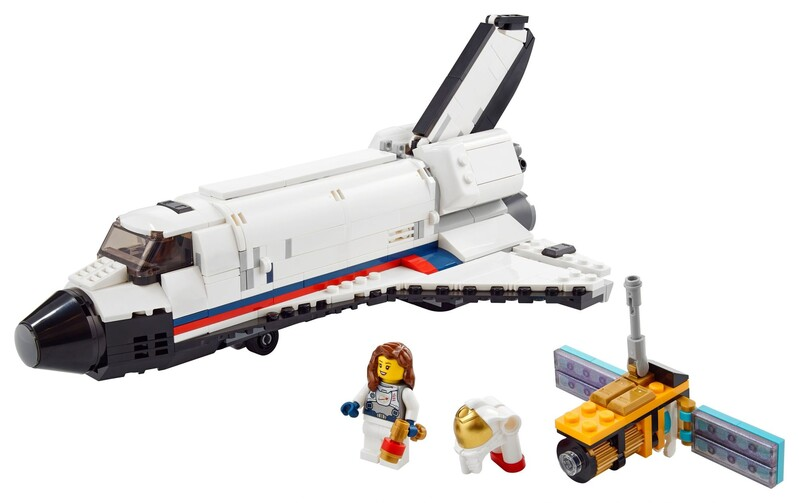 LEGO - Creator 31117 Vesmírne dobrodružstvo s raketoplánom