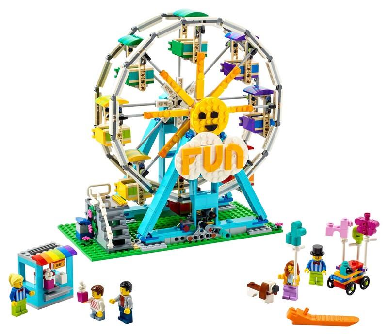 LEGO - Creator 31119 Ruské koleso