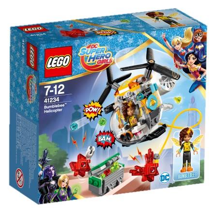 LEGO - DC Super Hero Girls 41234 Bumblebee a helikoptéra