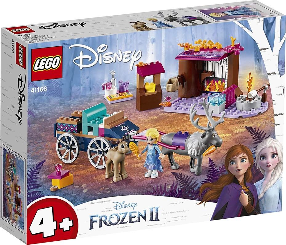 LEGO - Disney 41166 Elsa a dobrodružstvo s povozom