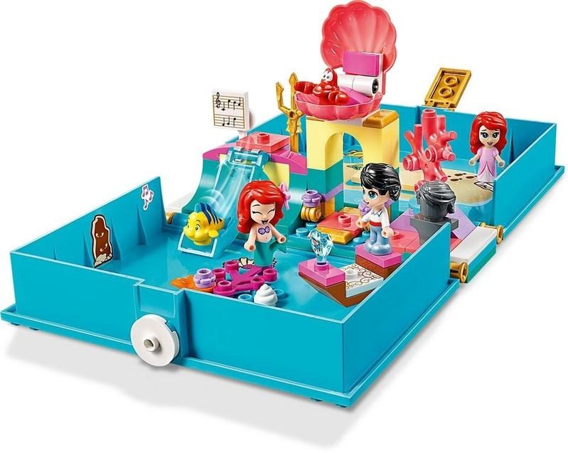 LEGO - Disney™ 43176 Princess Ariel a jej rozprávková kniha dobrodružstiev
