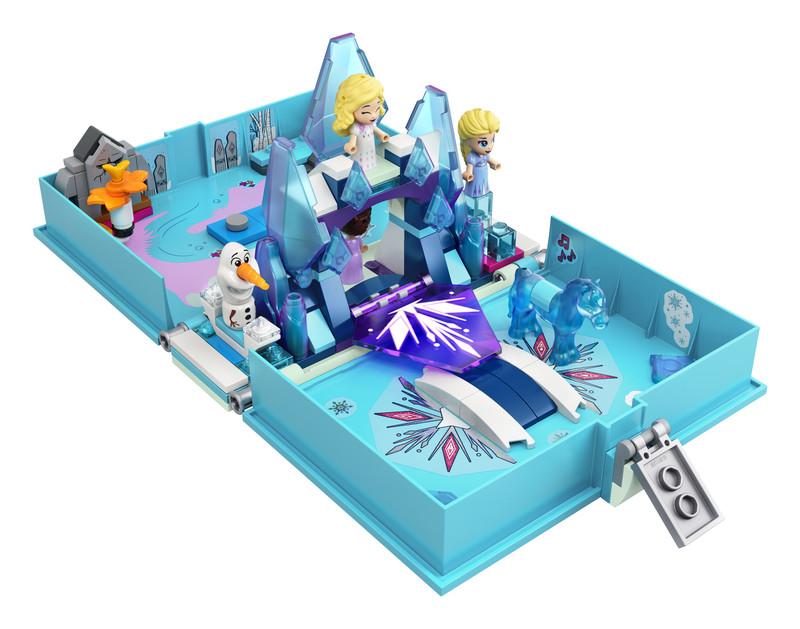 LEGO - Disney 43189 Elsa a Nokka a ich rozprávková kniha dobrodružstiev