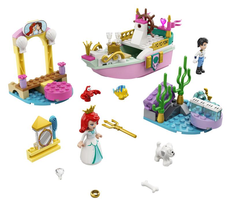 LEGO - Disney 43191 Arielina slávnostná loď
