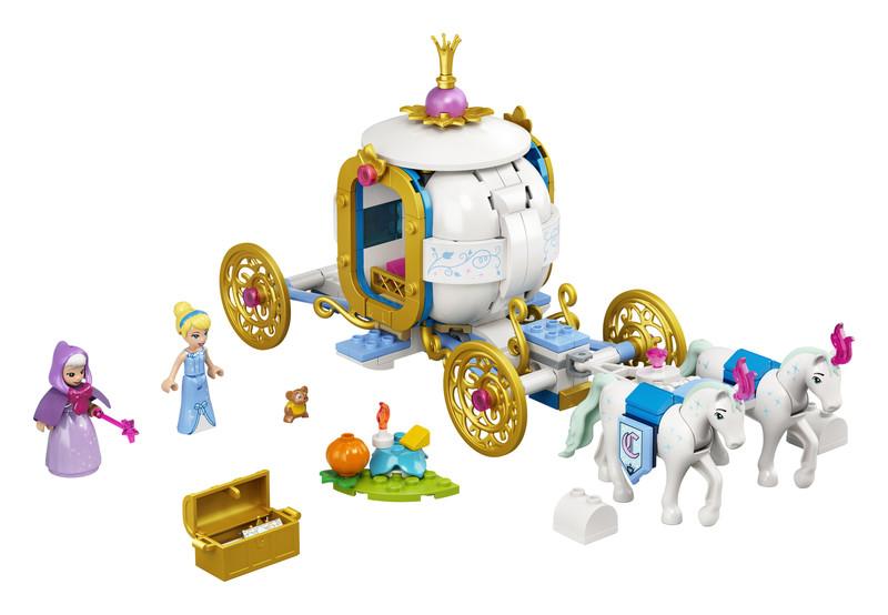 LEGO - Disney 43192 Popoluška a kráľovský kočiar