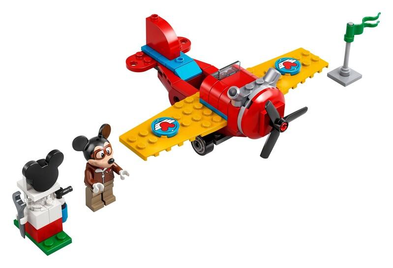 LEGO - Disney Mickey and Friends 10772 Myšiak Mickey a vrtuľové lietadlo