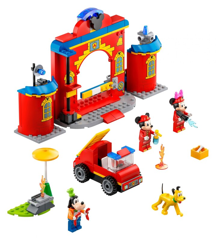LEGO - Disney Mickey and Friends 10776 Hasičská stanica a auto Mickeyho a jeho priateľov