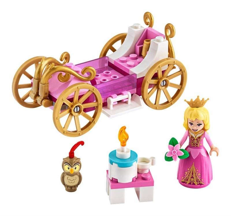LEGO - Disney Princess 43173 Šípková Ruženka a jej kráľovský kočiar