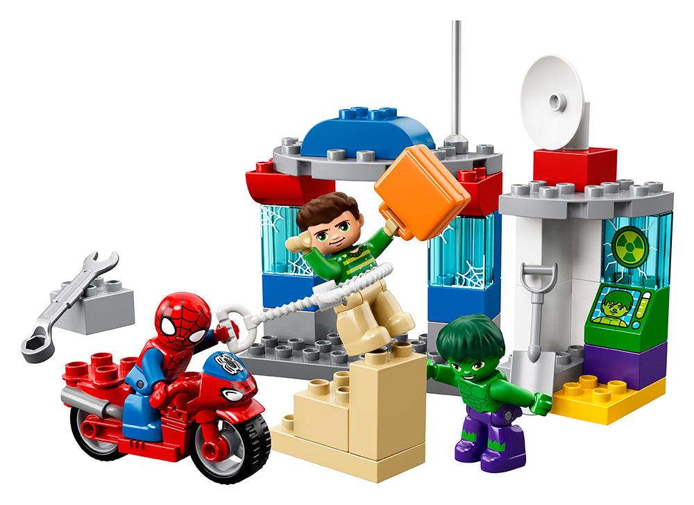 LEGO - Dobrodružstvo Spider-Mana A Hulka