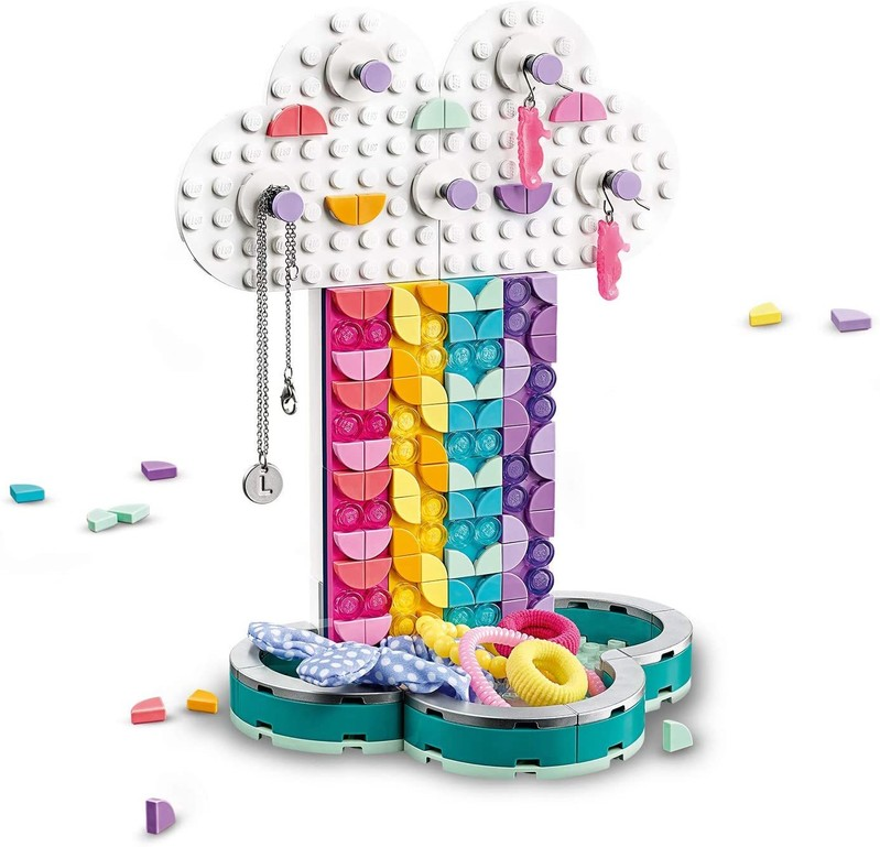 LEGO - DOTS 41905 Dúhový stojan na šperky