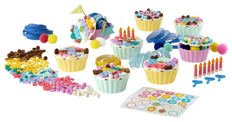 LEGO - DOTS 41926 Kreatívna sada tortičiek na párty