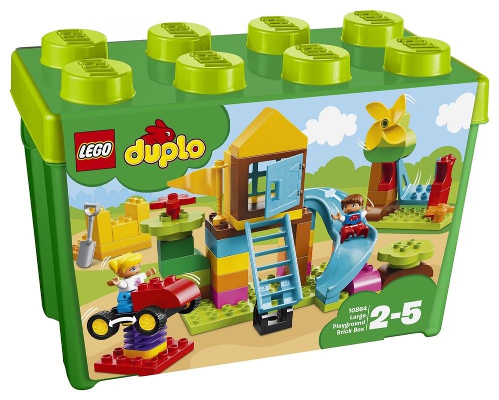 LEGO - DUPLO 10864 Veľký box s kockami na stavbu ihriska