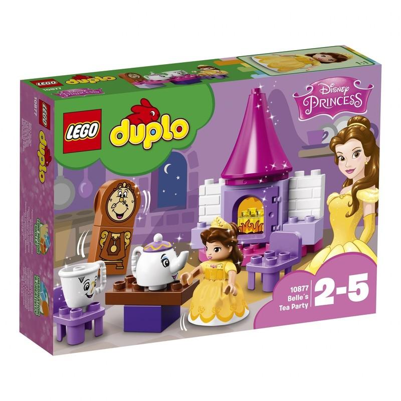 LEGO - DUPLO 10877 Bella a jej čajový večierok