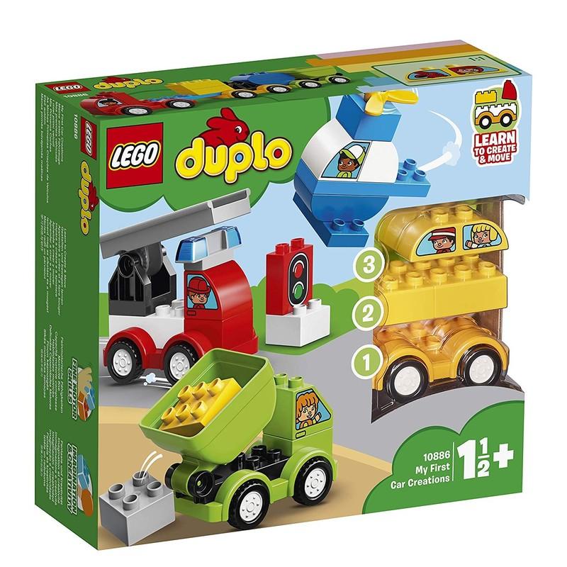 LEGO - DUPLO 10886 Moje prvé výtvory vozidiel