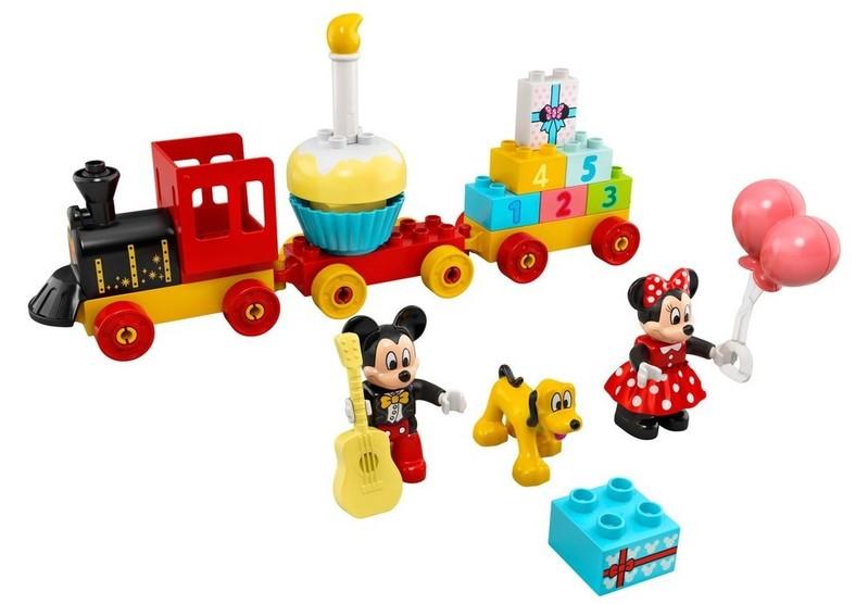 LEGO - DUPLO 10941 Narodeninový vláčik Mickeyho a Minnie