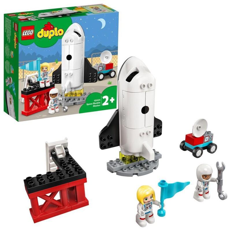 LEGO - DUPLO® 10944 Misia s raketoplánom