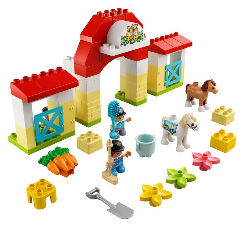 LEGO - Duplo 10951 Stajňa s poníkmi
