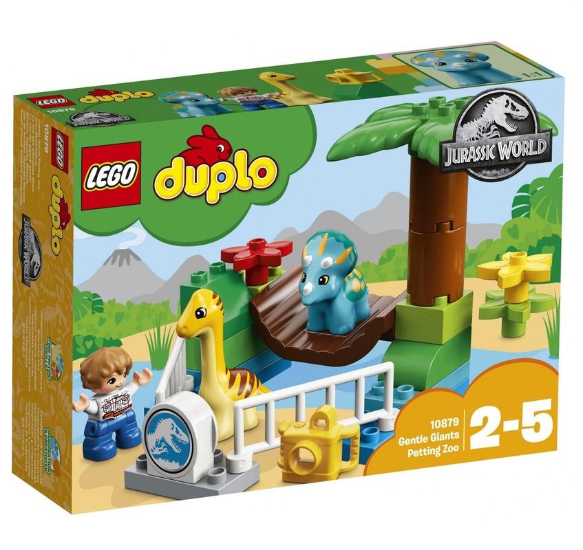 LEGO - DUPLO® Jurassic World 10879 Nežní obri v Zoo