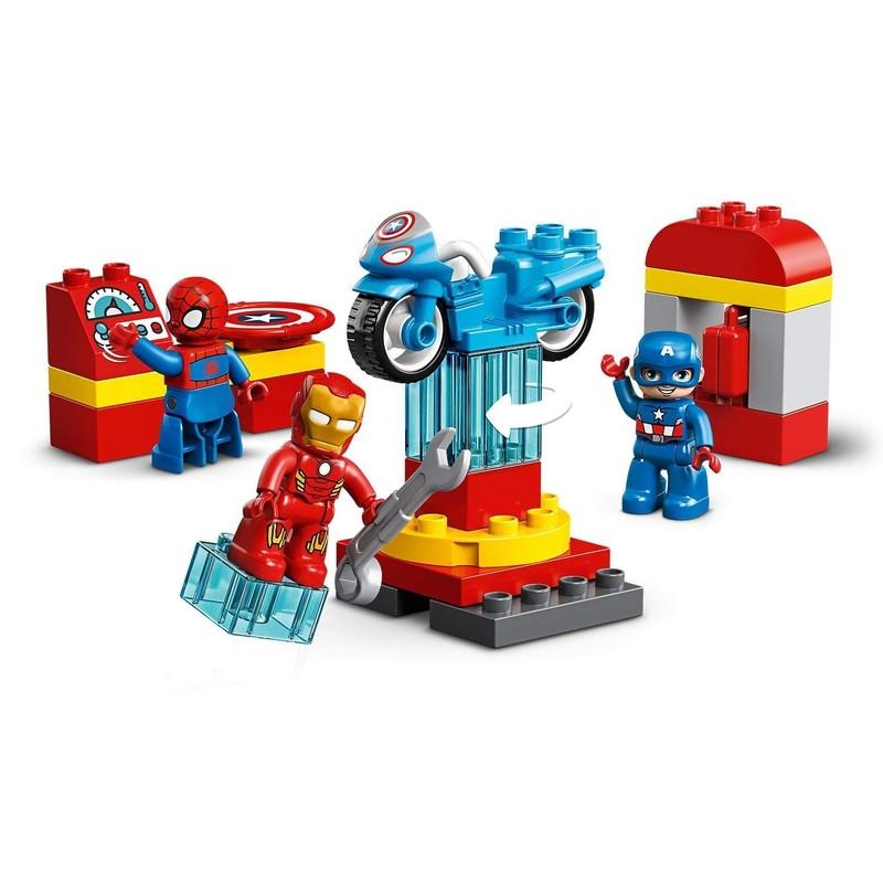 LEGO - DUPLO Super Heroes 10921 Laboratórium superhrdinov