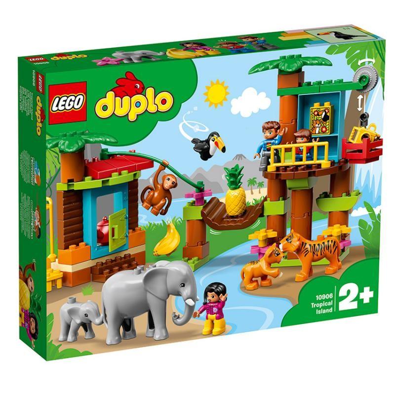 LEGO - DUPLO Wild Animals 10906 Tropický ostrov