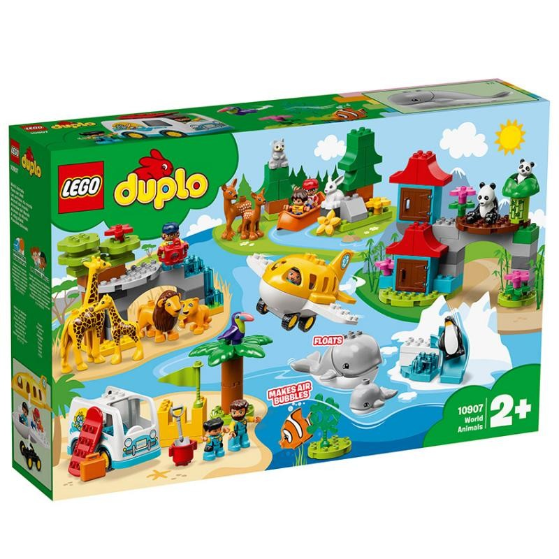 LEGO - DUPLO Wild Animals 10907 Zvieratká sveta