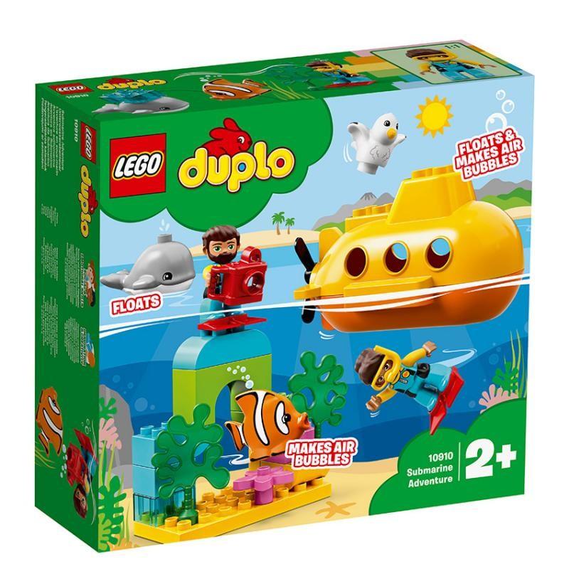 LEGO - DUPLO Wild Animals 10910 Dobrodružstvo v ponorke