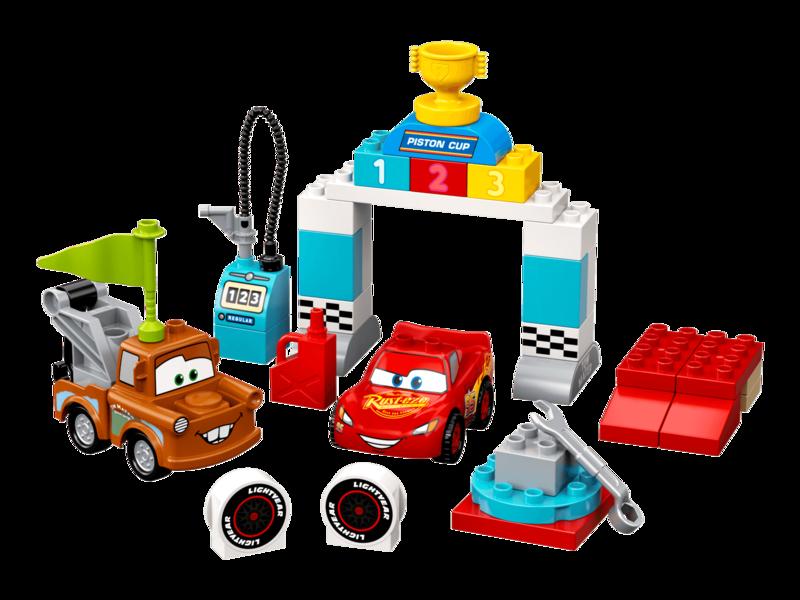 LEGO - DUPLO®10924 Bleskový McQueen a deň pretekov