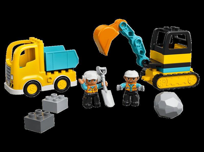 LEGO - DUPLO®10931 Nákladiak a pásový bager