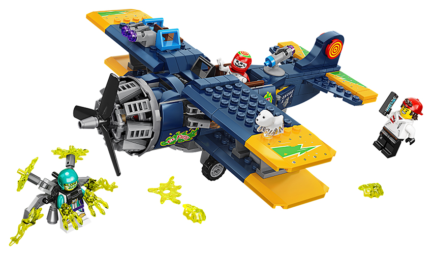 LEGO - El Fuegovo Kaskadérske Lietadlo