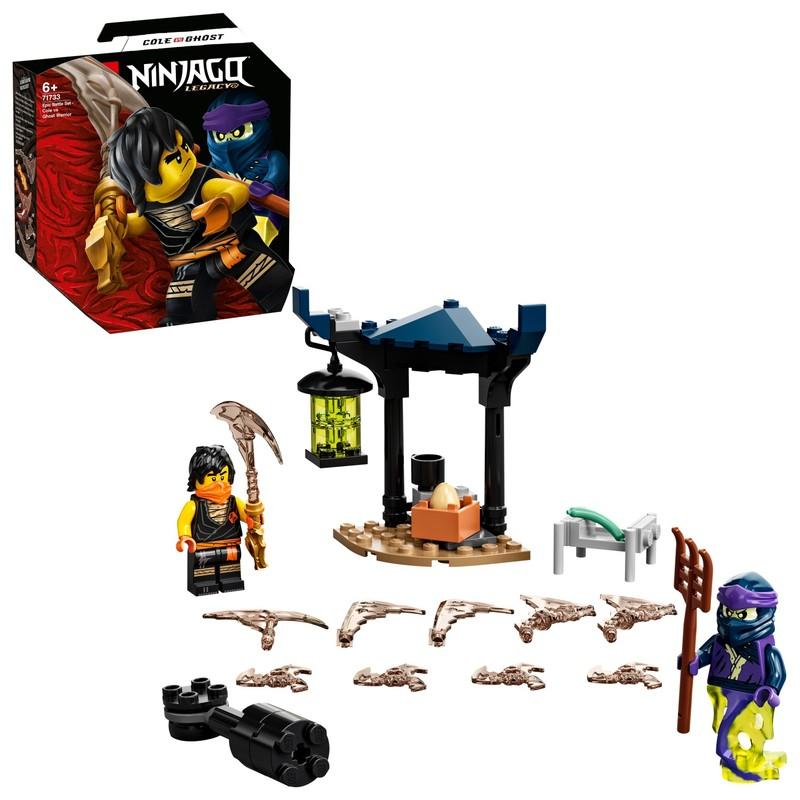 LEGO - Epický súboj – Cole vs. prízračný bojovník