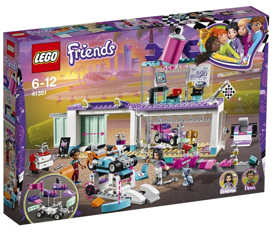 LEGO - Friends 41351 Tuningová dielňa